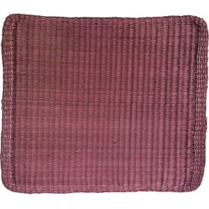 sg23s/ma : seagrass rectangular placemat - mauve **SOLDOUT**