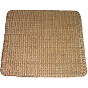 sg23s/n : seagrass rectangular placemat - natural