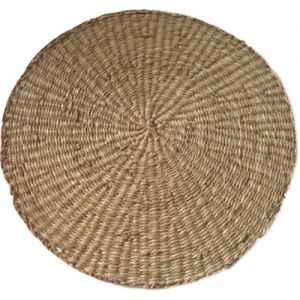 SG29N: Seagrass Round Placemat - natural **SOLDOUT / DISCONTINUED**