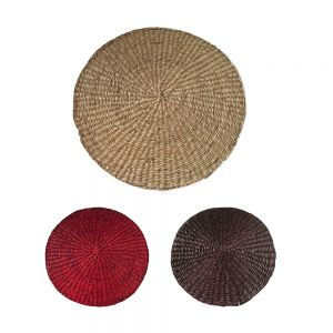 Seagrass Round Placemat D30cm