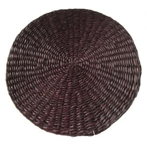 SG29/ch : Seagrass Round Placemat - chocolate