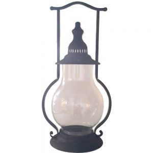 TQ-2T01 : Eddison hour glass lantern - Medium
