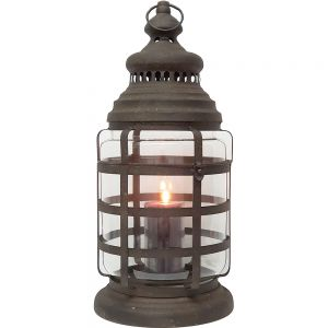 Eddison Cylindrical Antique Miner Lantern
