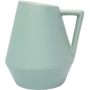 Domonique vase w/handle - L (blue)