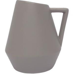 Domonique vase w/handle - L (grey)