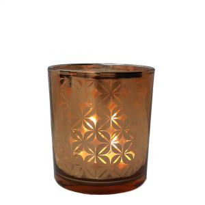 VCP-3i : Eclectic star circle votive - med