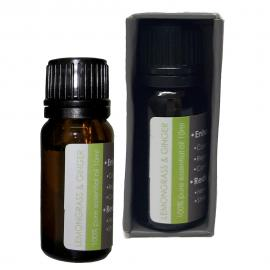 10ml natural essential oil - lemongrass & ginger